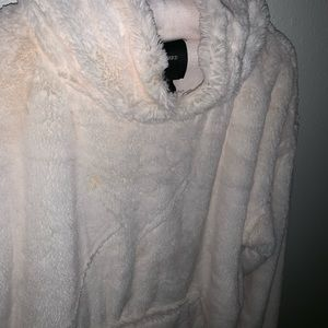 Fluffy forever 21 hoodie